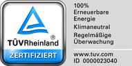 Tüv Rheinland Ökostromlabel